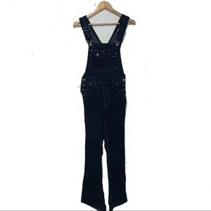 Vintage Silver Jeans Overalls Coveralls Y2K